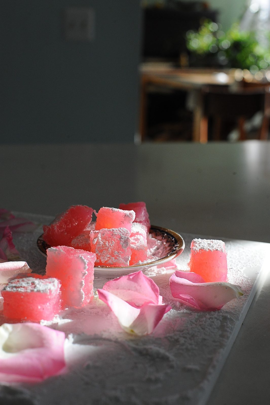 Rose Turkish Delight, Vegan Gluten Free