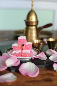 Rose Turkish delight (Vegan, Gluten Free)