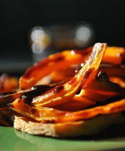 Balsamic Glazed Butternut Squash (Vegan, Paleo, Gluten free)