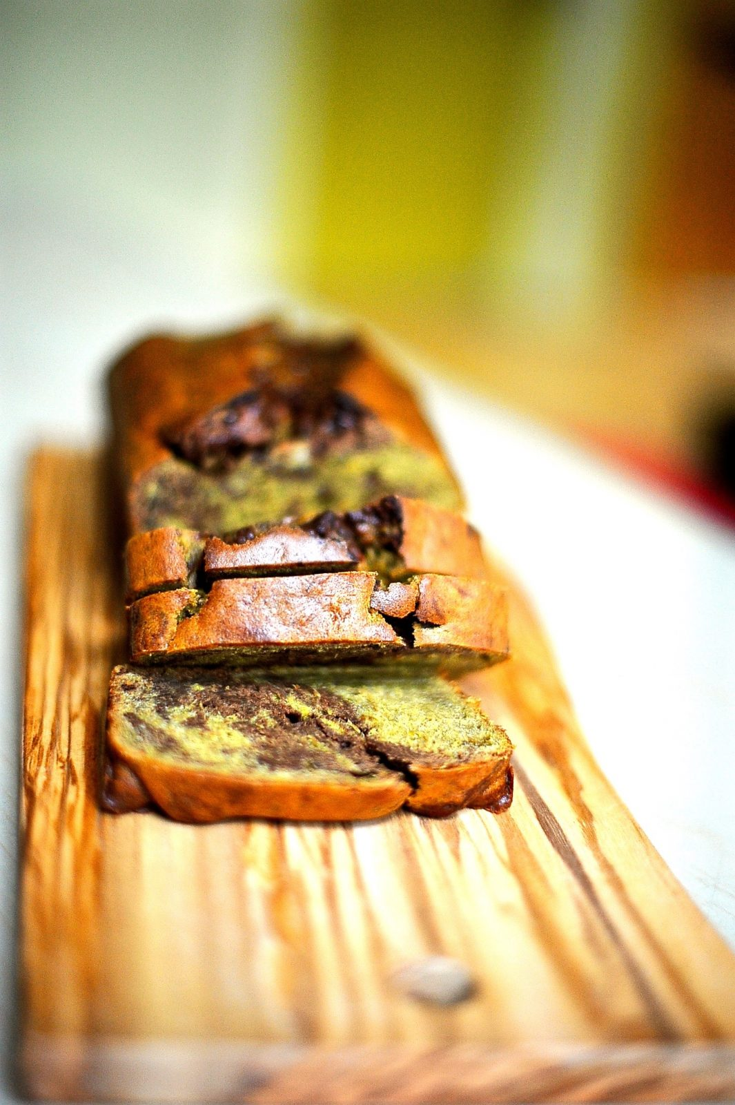 Chocolate Swirl Banana Bread (Vegan)