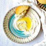 Vegan Labneh. Paleo, Gluten Free and Fresh Pita (Vegan)