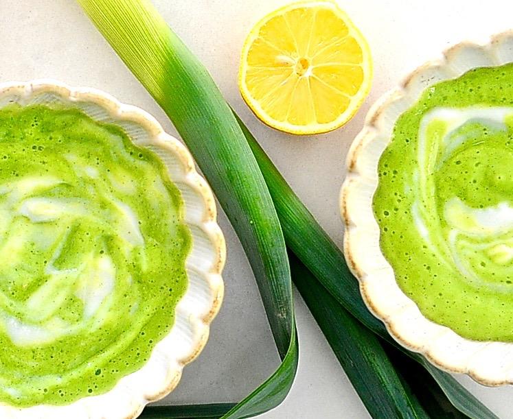 Zucchini Leek Soup (Vegan, Paleo, Gluten Free)