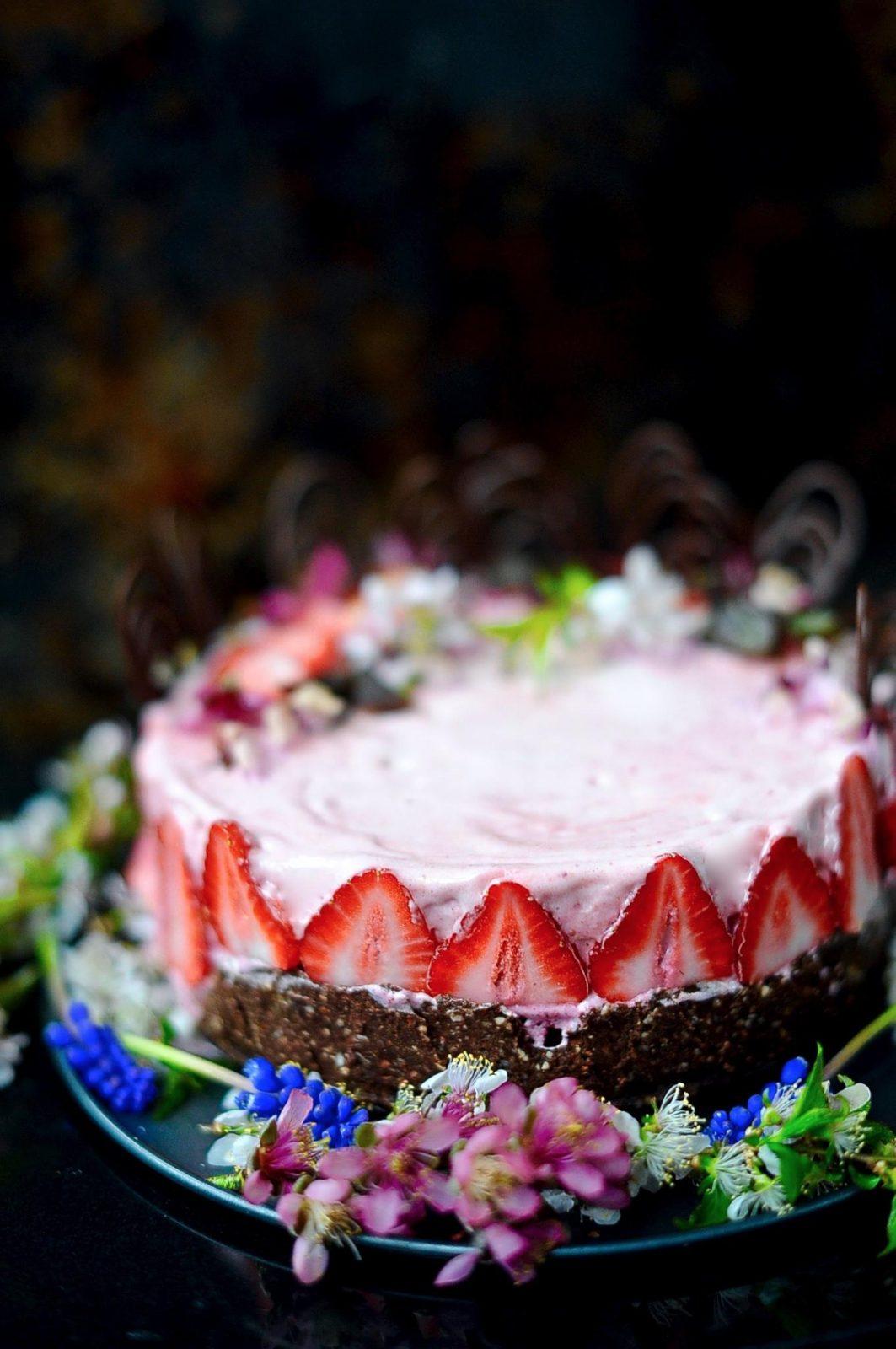 Berry Ice-Cream Cake