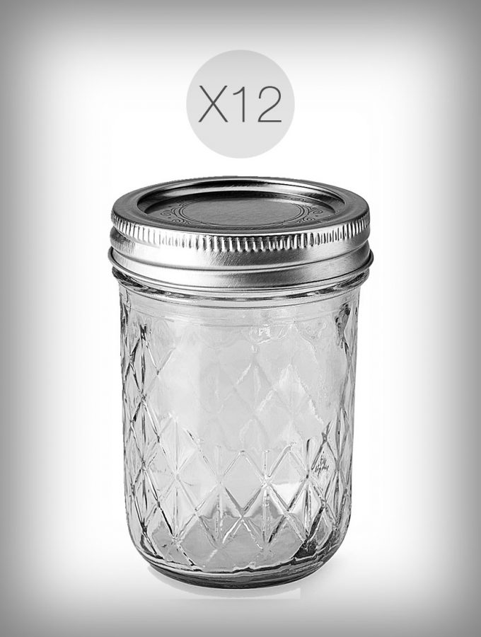 8oz Ball Jar Set