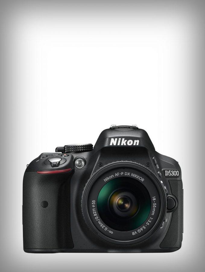 Nikon D5300 DSLR + 18-55mm lens