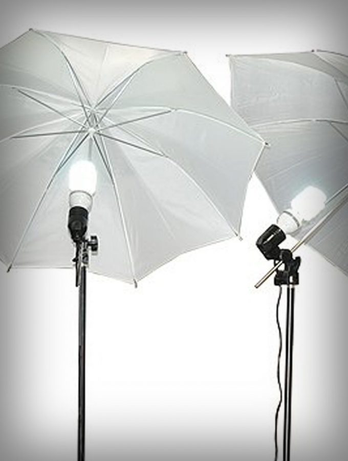 Fancierstudio 3 Point Umbrella Lighting Kit