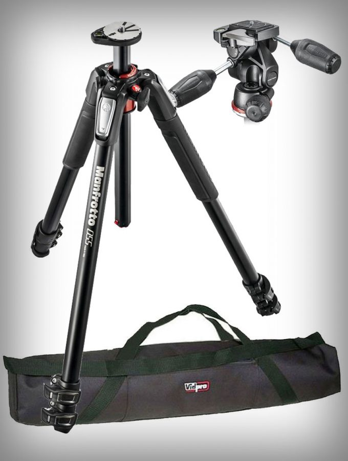 Manfrotto Tripod Kit w/3 Way head