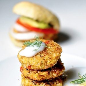 "Vegan ""Crab"" Cake Sliders"