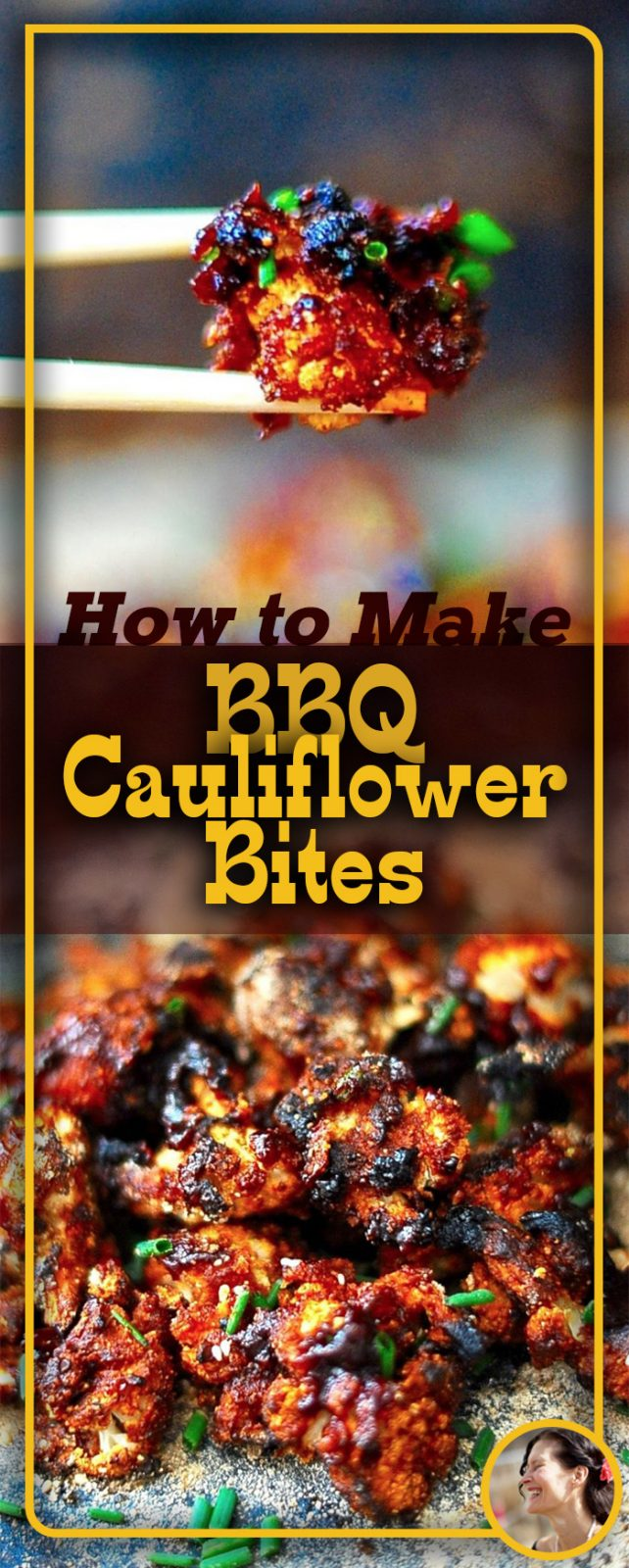 Delicious Vegan BBQ-Cauliflower-Bites recipe