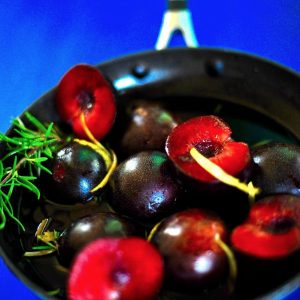 Roasted Plums in Port Wine Sauce (Vegan, Gluten Free)