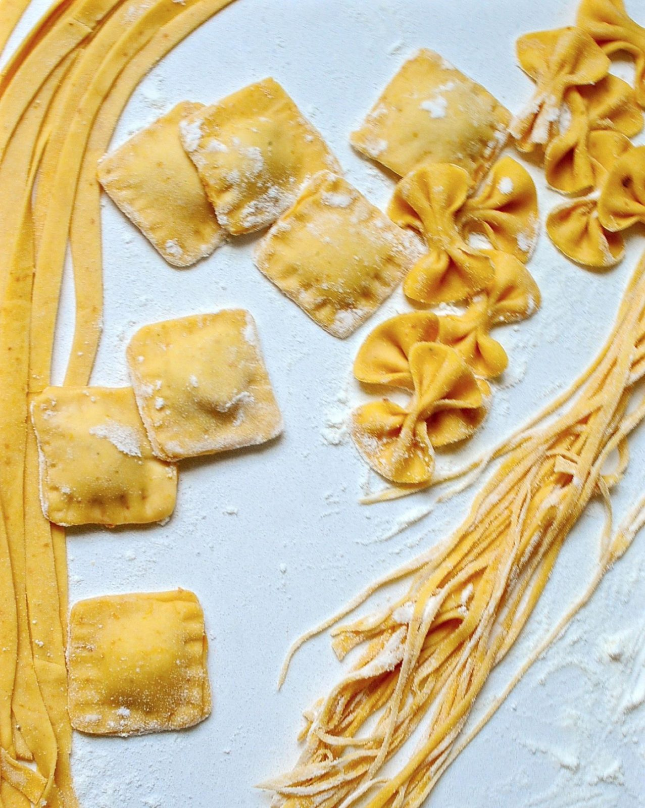 Fresh Pumpkin Pasta (Vegan)