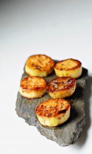 Miso Glazed Eggplant Scallops(Vegan) 7
