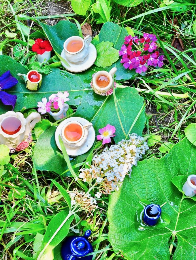 A Magical Fairy Tea Party (Vegan)