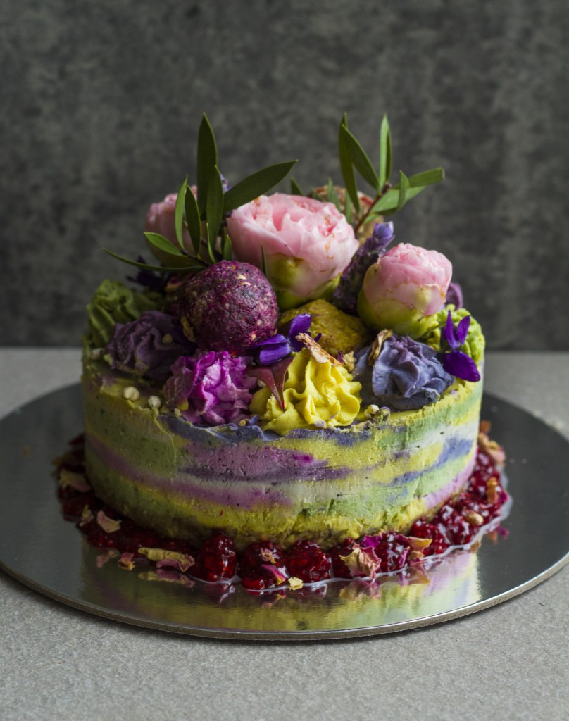 Cake for A Magical Fairy Tea Party (Vegan)