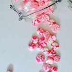 Chocolate Dipped Candy Cane Vegan Meringues ( Gluten Free)