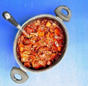 One Pot Beet Bourguignon (Vegan, Gluten Free)