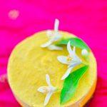 Mini Mango Cheesecake, raw, vegan gluten free,paleo,orang blossoms