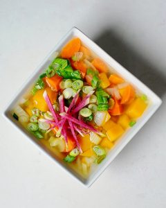 Miso Kabocha Squash Soup (Vegan, Gluten Free)