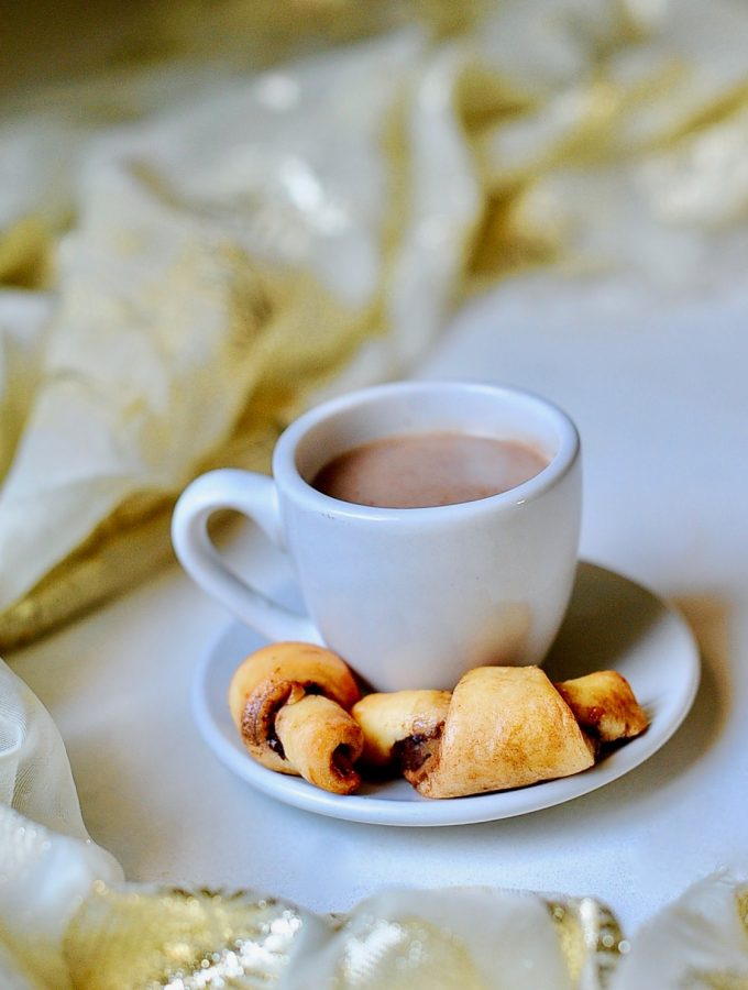 Perfect Vegan Rugelach, Hanukkah Crescent Cookies