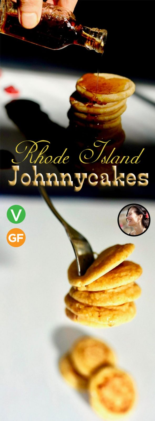 Rhode Island Johnnycakes (Vegan, Gluten Free)