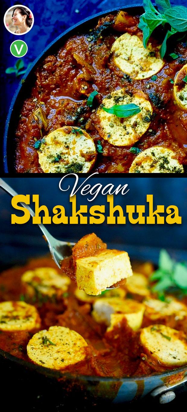 Vegan Shakshuka, one pan, gluten free
