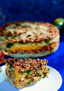 Vegan Rainbow Lasagna Recipe for the Holidays