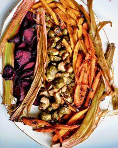 Cider-Glazed Roasted Vegetables (Vegan)