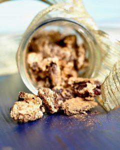 Candied Cinnamon sugar pecans (vegan, Gluten Gree, Aquafaba)