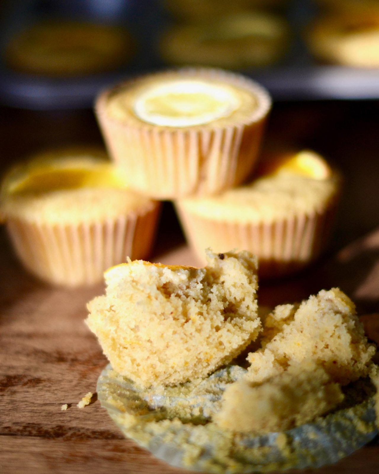 Vegan Orange Sunshine Muffins