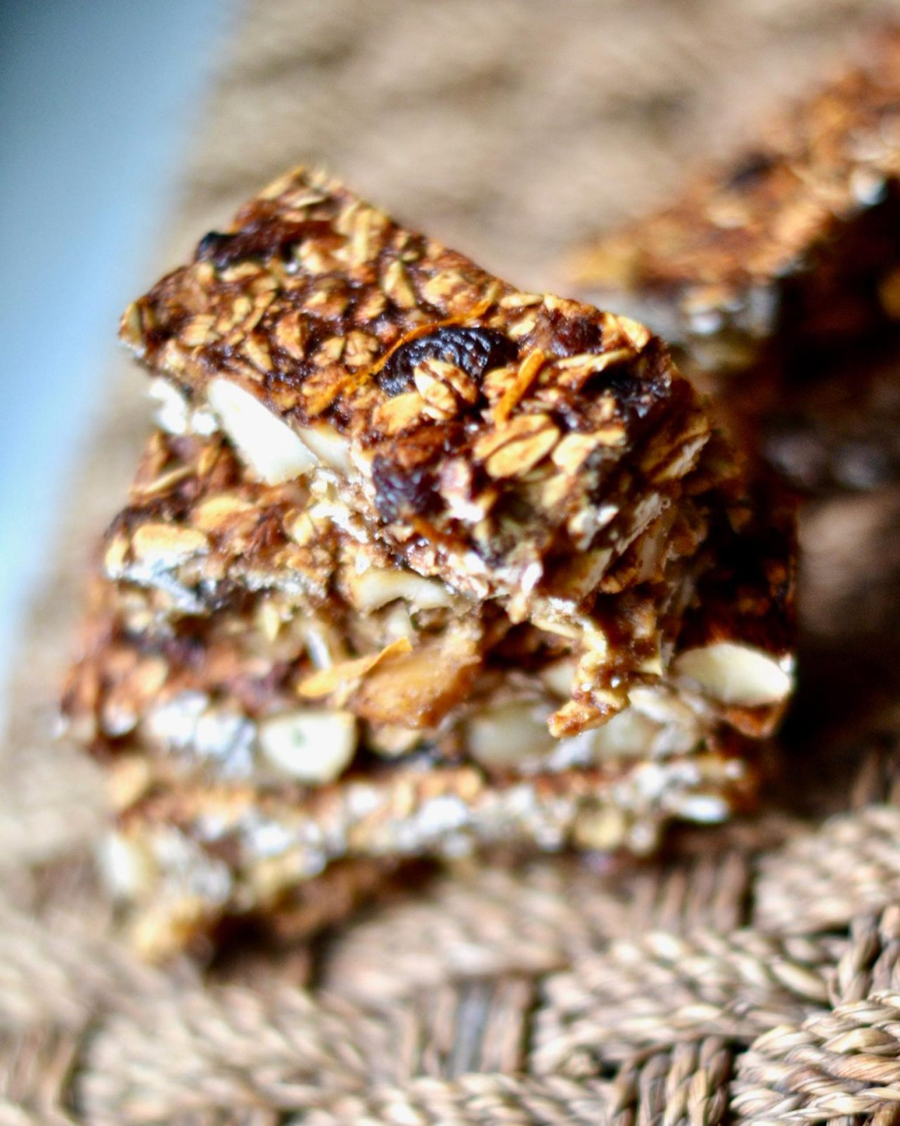 Orange Creamsicle Granola Bars, Vegan, Gluten Free