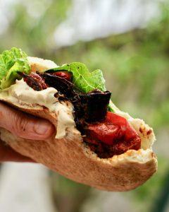 Vegan Shawarma Sandwich