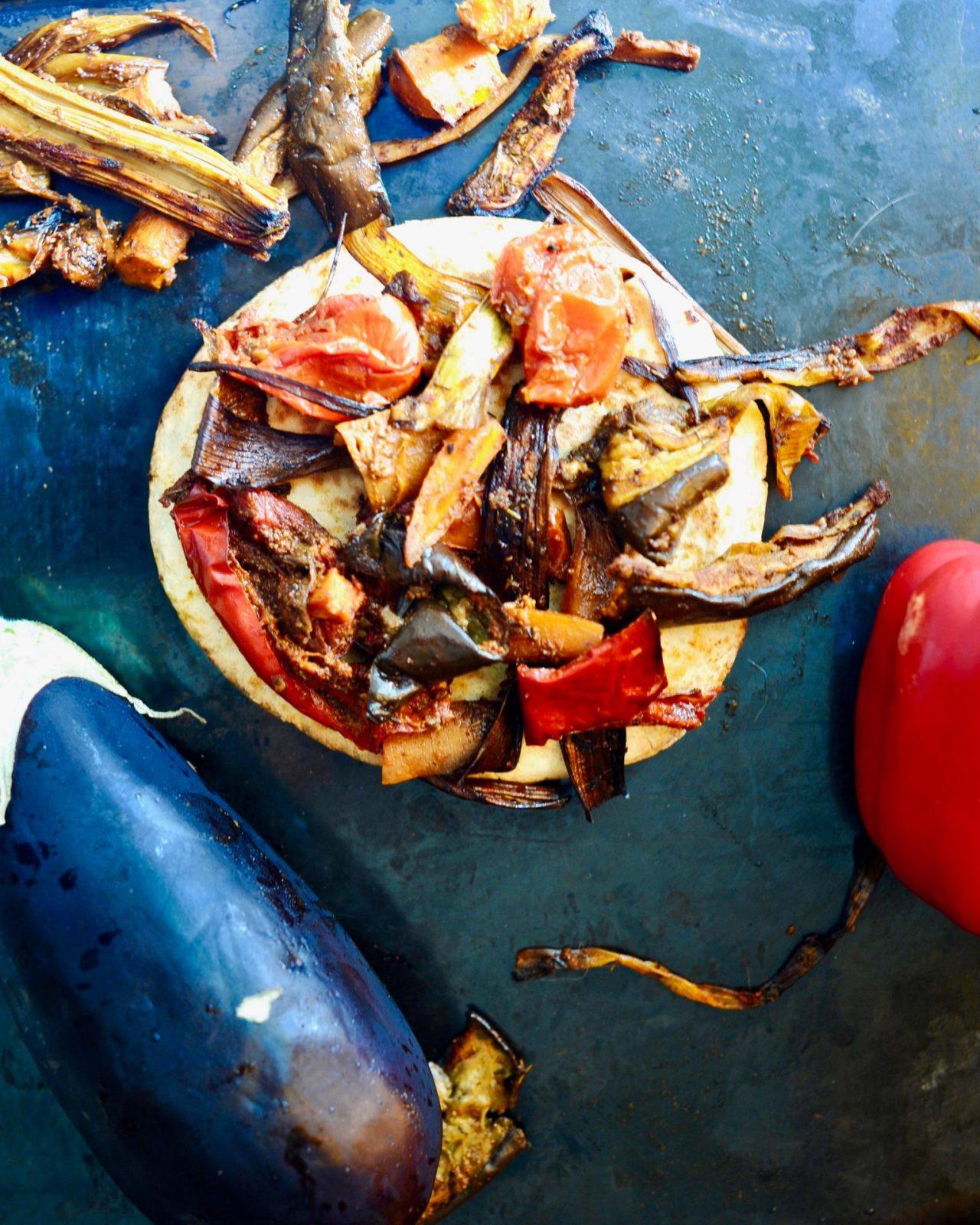 Shawarma Spiced Roasted Eggplant (Vegan, Gluten Free)