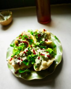 Ten minute healthy dorm room tahini cauliflower