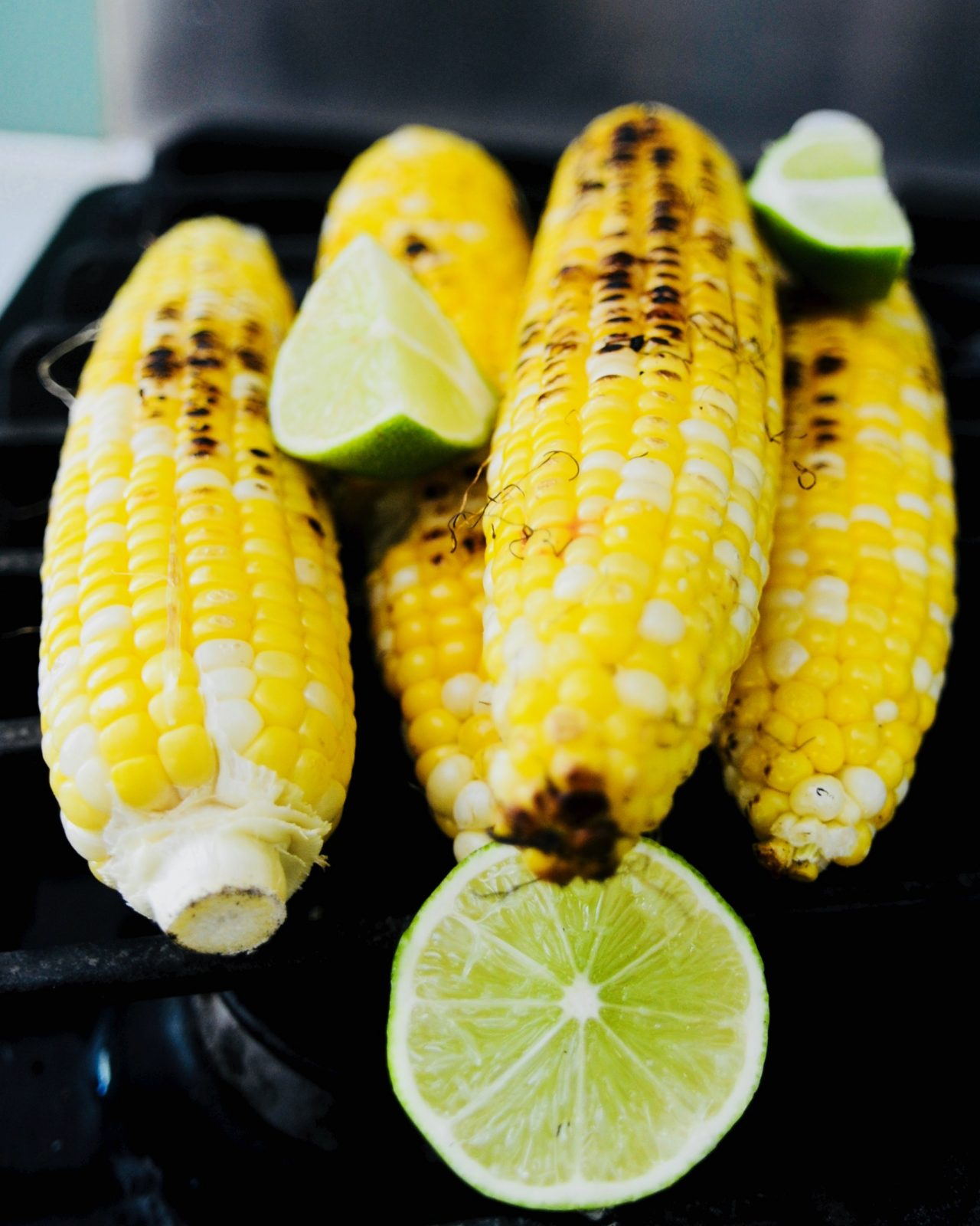 Grilled Paprika-Lime Corn on the Cob (Vegan, Gluten Free)