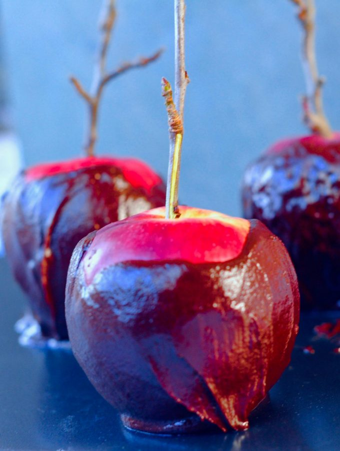 How To Make Chocolate Poison Apples For Halloween