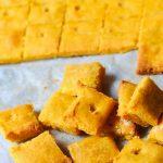 Easy Homemade Cheese-Its, Vegan, Gluten Free
