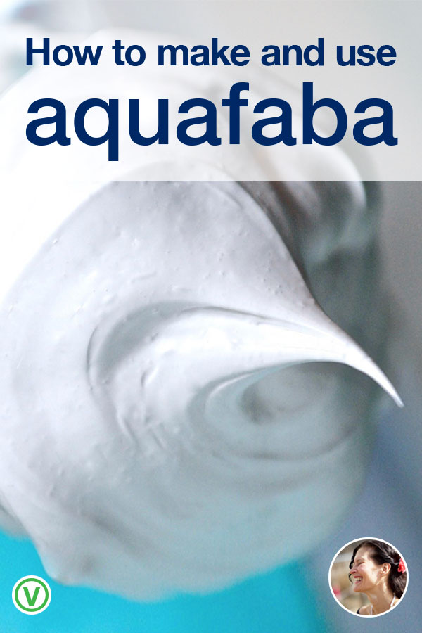 A guide to everything you need to know to make and use Aquafaba
