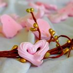 Vegan Rose Meringues for the one you love